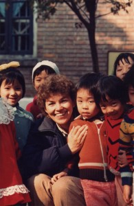 1984.Sharon in China